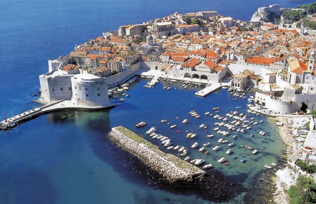 """Dubbed """"Pearl of the Adriatic,"""" Dubrovnik has been a Dalmatian Coast darling for centuries. Photo credit: Croatian Tourist Board"""