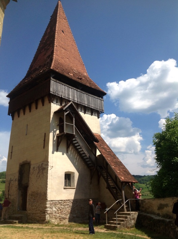 The Shoemakers' Tower was constructed in 1521 in Sighisoara. Photo: Michel Behar