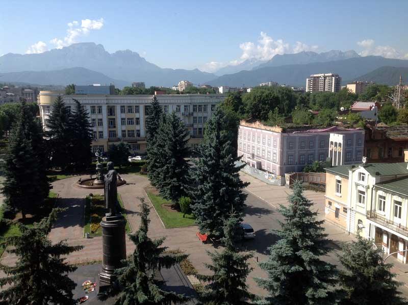Handsome Vladikavkaz, North Ossetia. Photo: Michel Behar