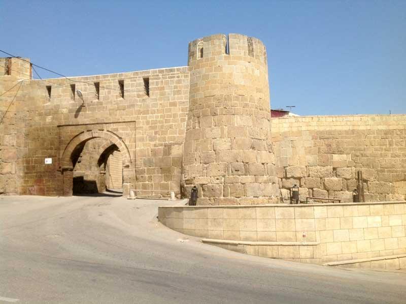 Gates to the citadel in Derbent, Dagestan. Photo credit: Michel Behar