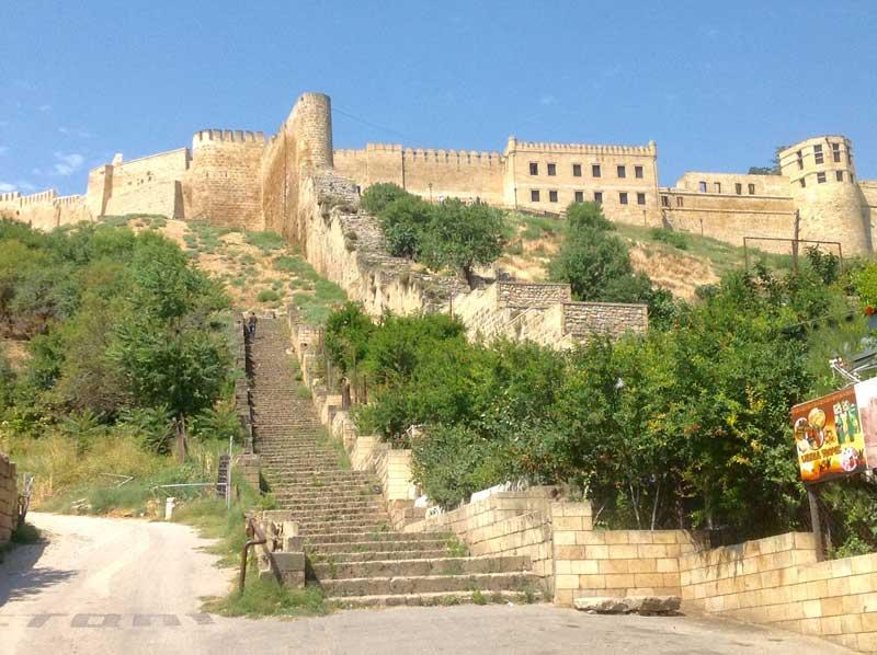 Awe-inspiring 5th century Naryn-Kala Fortress in Derbent. Photo credit: Michel Behar