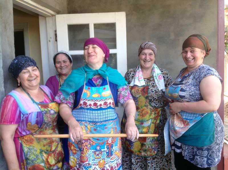 Real housewives of Derbent, Dagestan. Photo credit: Michel Behar