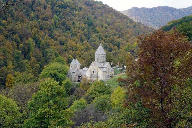 Little Haghartsin Monastery is hidden away in the hills of Dilijan National Park. Photo credit: Jake Smith