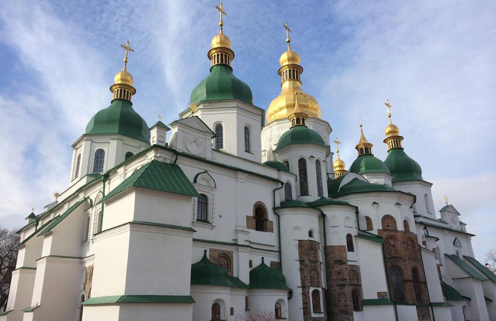 Saint Sophia Cathedral, Kiev, Ukraine. Photo credit: Jessica Clark