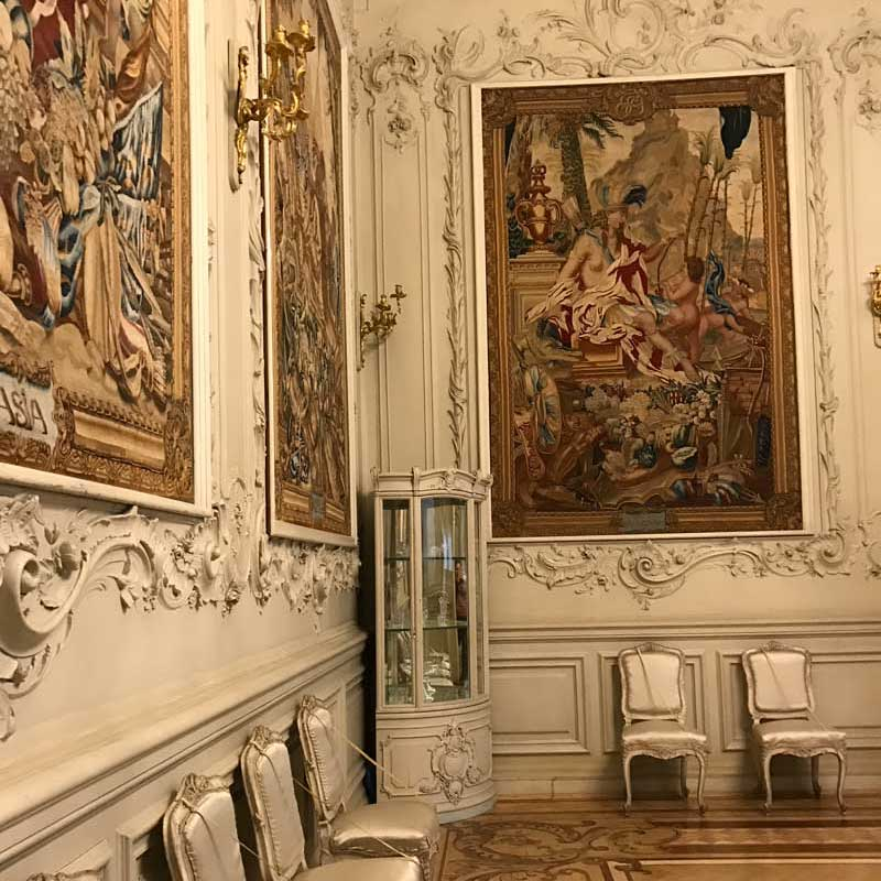 Exhibitions in the Hermitage. Photo credit: Jessica Clark