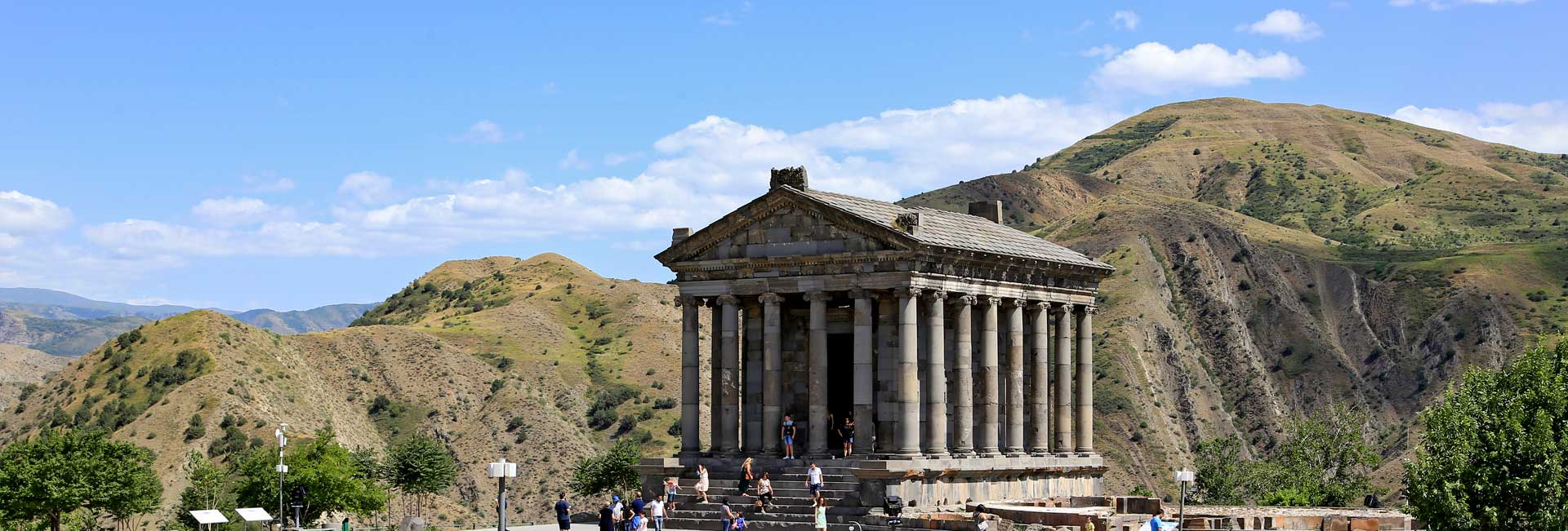 Temple of Garni (Armenia). Photo credit: Ann Schneider