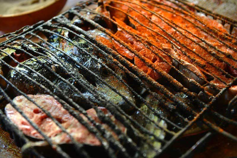 Grilled trout is a specialty in areas around Lake Sevan (Armenia)