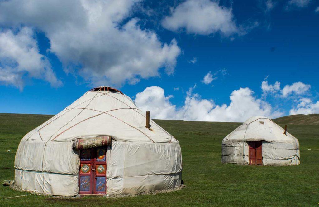Yurts in Son Kul, Kyrgyzstan. Photo credit: Andra Artemova