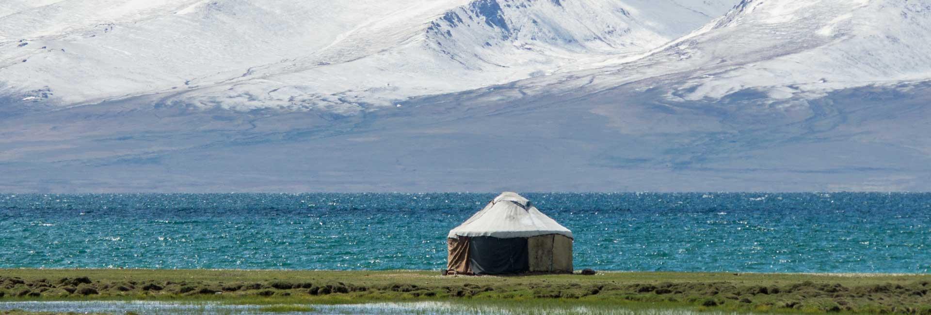 Yurt in Son Kul, Kyrgyzstan. Photo credit: Andra Artemova