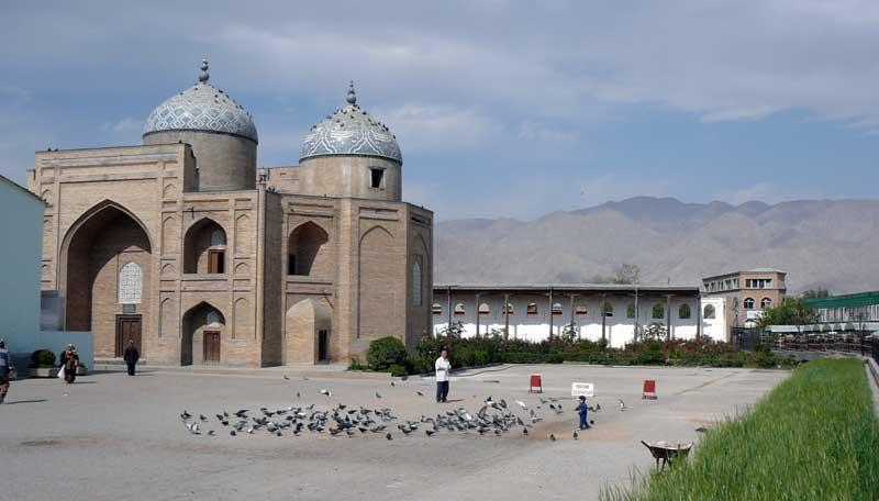 Muslihiddin Khujand Mausoleum in Khujand. Photo credit: Jake Smith