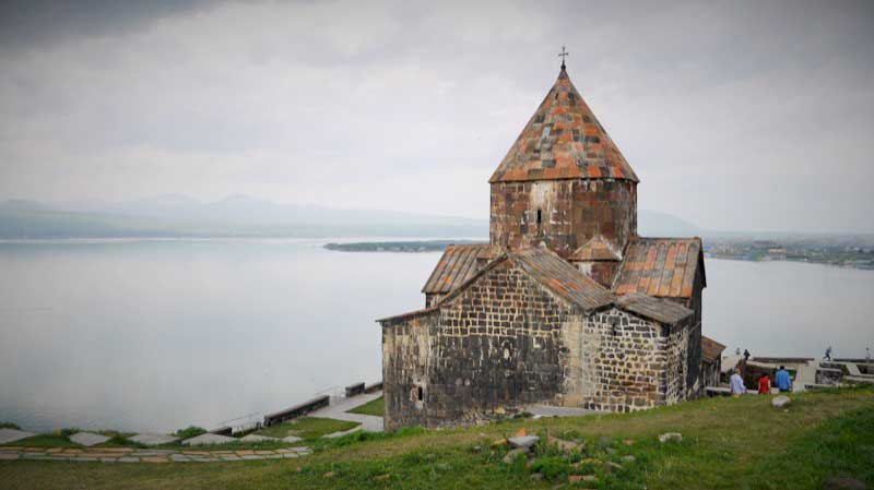 Founded in the year 874 AD, Sevanavank Monastery was an important center of pilgrimage for Armenian Christians throughout the Middle Ages. Photo credit: Martin Klimenta