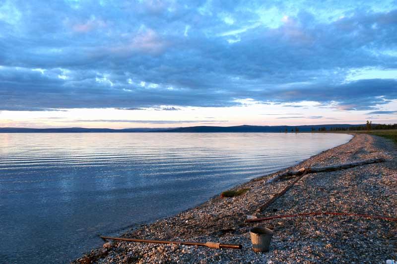 Sunset on Lake Hovsgol, Mongolia. Photo credit: Ana Filonov