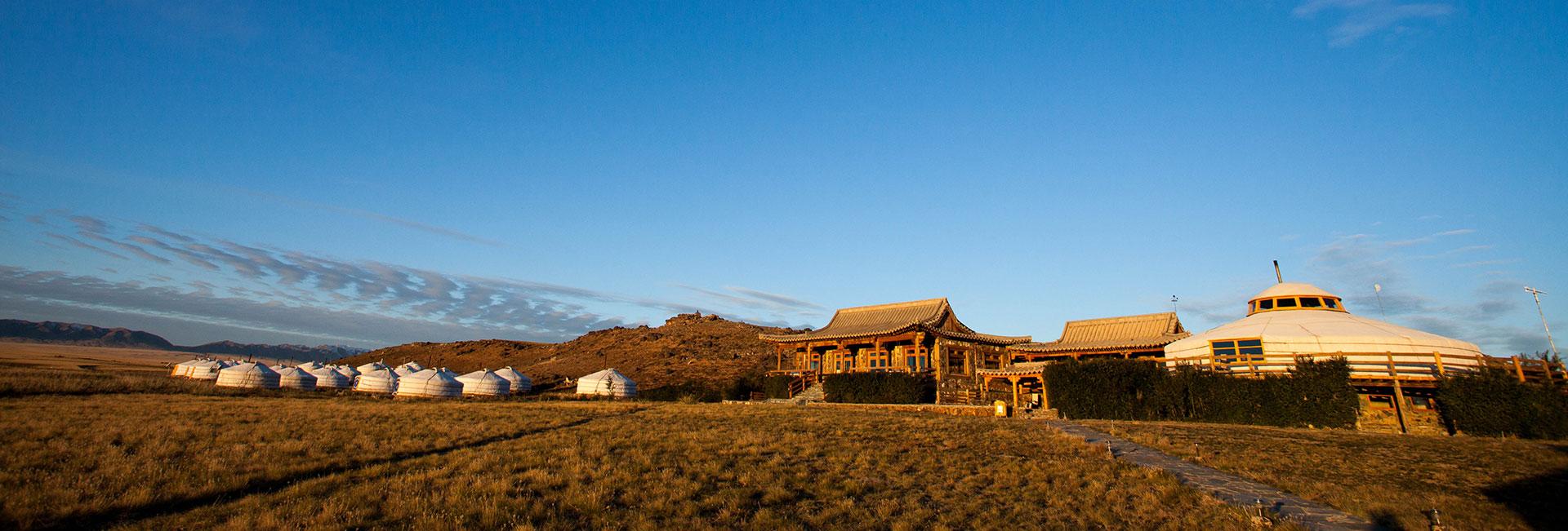 Three Camel Lodge, Mongolia.