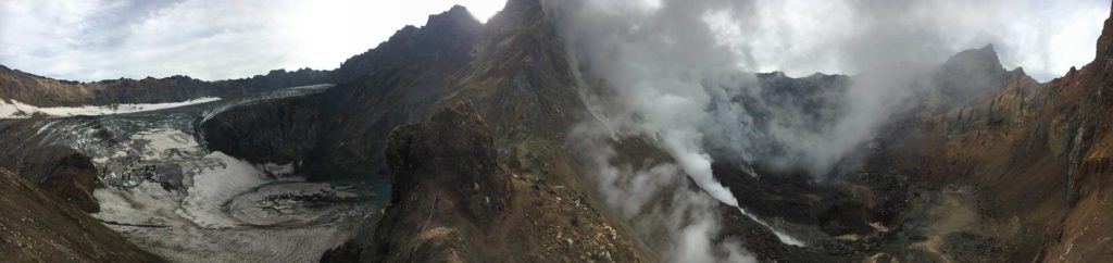 Mutnovsky Volcano, Kamchatka. Photo credit: Jake Smith