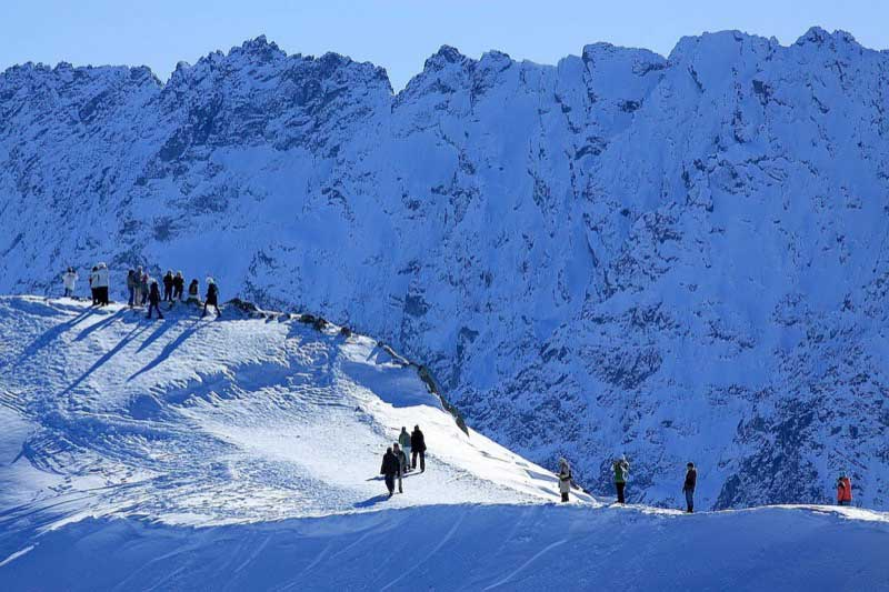 Snow in the High Tatras. Photo credit: Polish National Tourist Board