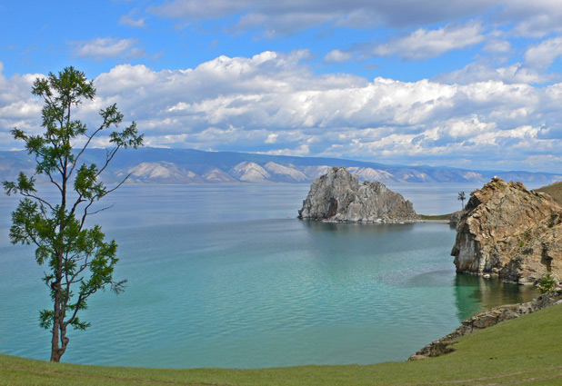Olkhon Island in Lake Baikal is considered one of the most sacred places in Siberia. Photo credit: Vladimir Kvashnin