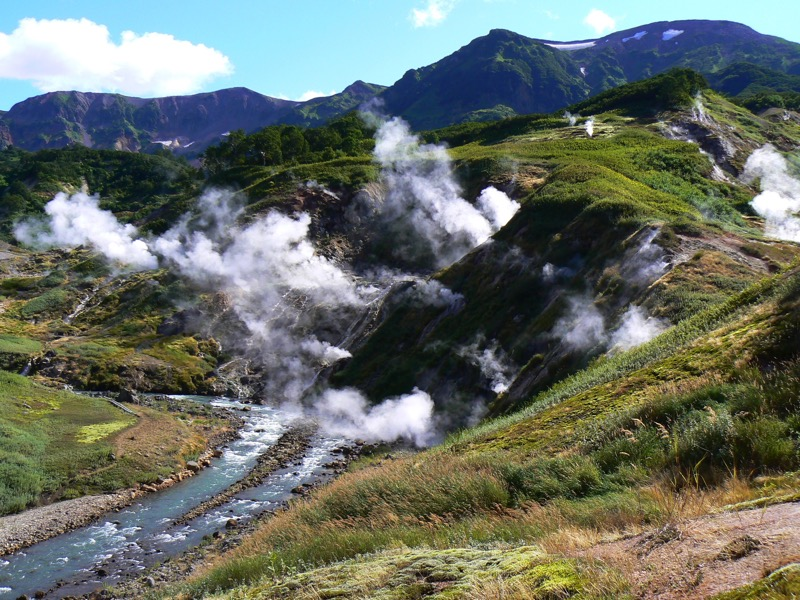 Discovered in 1941, Kamchatka's remote Valley of the Geysers is a UNESCO World Heritage Site. Photo credit: Martin Klimenta