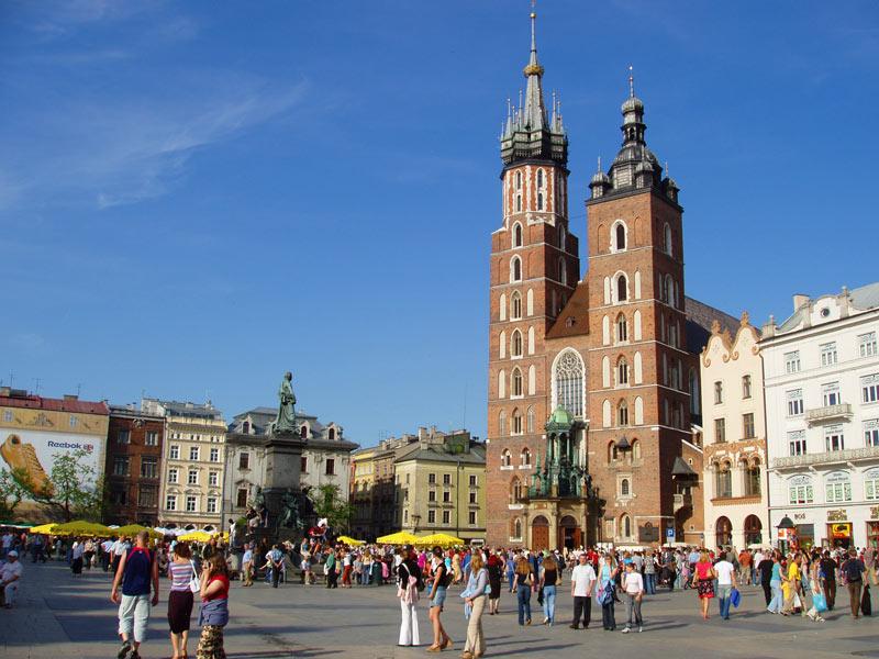 Poland's royal city, Krakow. Photo credit: Martin Klimenta
