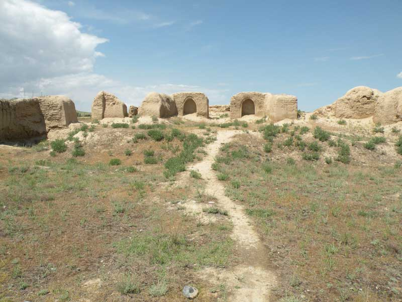 Archaeological sites of Old Panjakent. Photo credit: Jake Smith