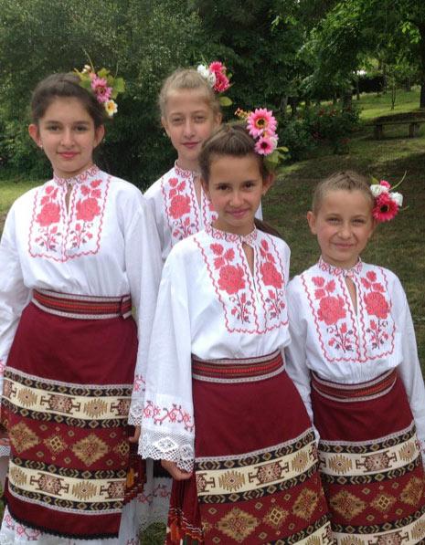 Children carry on Bulgarian traditions in Veliko Tarnovo, Bulgaria. Photo credit: Michel Behar