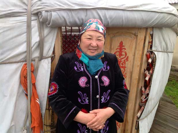 A warm welcome awaits those who venture to Kyrgyzstan. Photo credit: Michel Behar