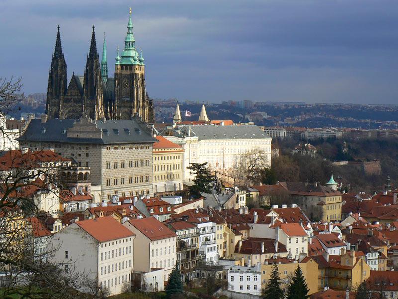 A view of Prague, Czech Republic, from Strahov monastery. Photo credit: Martin Klimenta