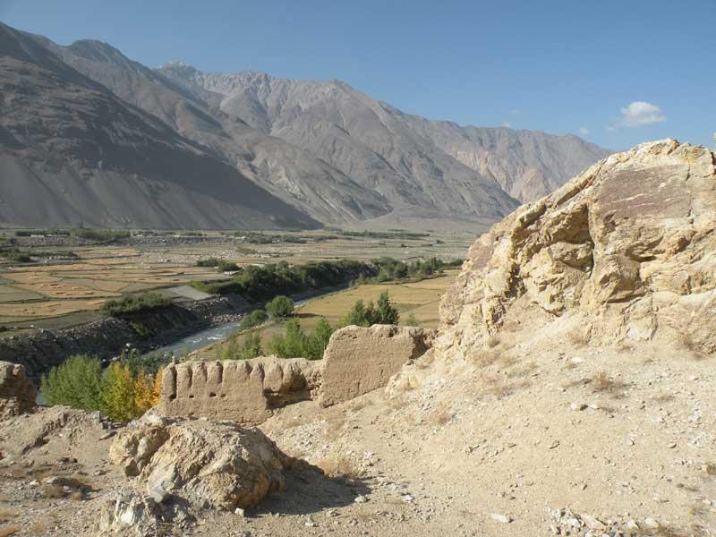Qahqaha Fort near Namadgut. Photo credit: Jake Smith