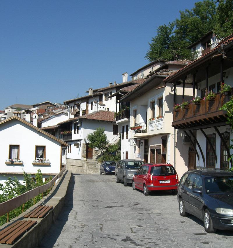 Streets of Veliko Tarnovo, Bulgaria. Photo credit: Liz Tollefson