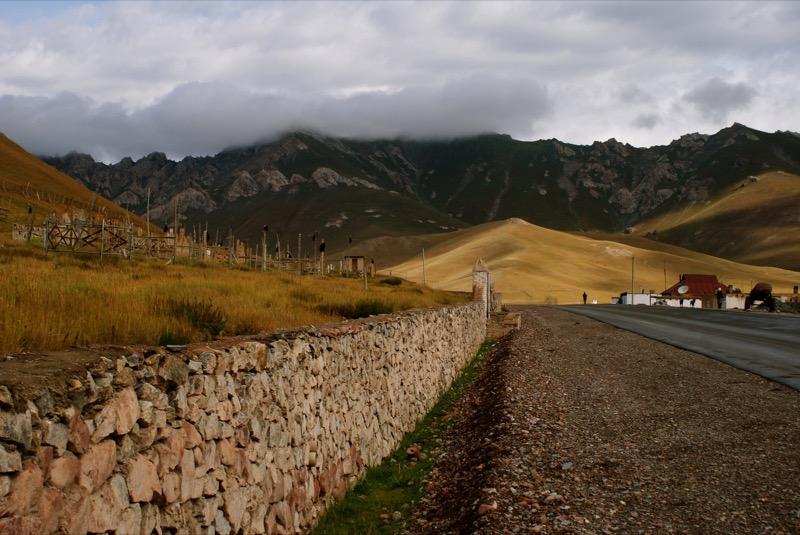 The golden hills of Sary Tash, Kyrgyzstan. Photo credit: Caroline Eden