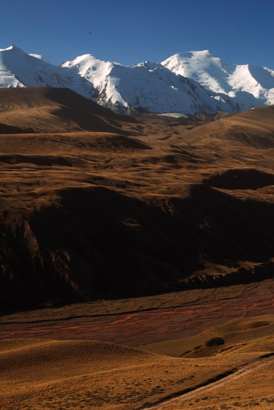 A view of the Pamirs from Sary Tash, Kyrgyzstan. Photo credit: James Carnehan