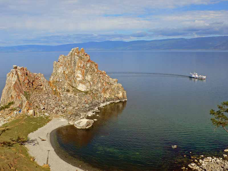 """UNESCO-listed Baikal, the deepest and oldest lake on earth, so vast that locals call it """"the sea."""" Photo credit: Vladimir Kvashnin"""