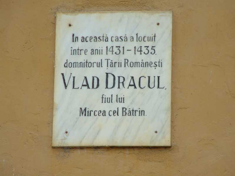 The home of Vlad Dracul in Sighisoara. Photo: Liz Tollefson