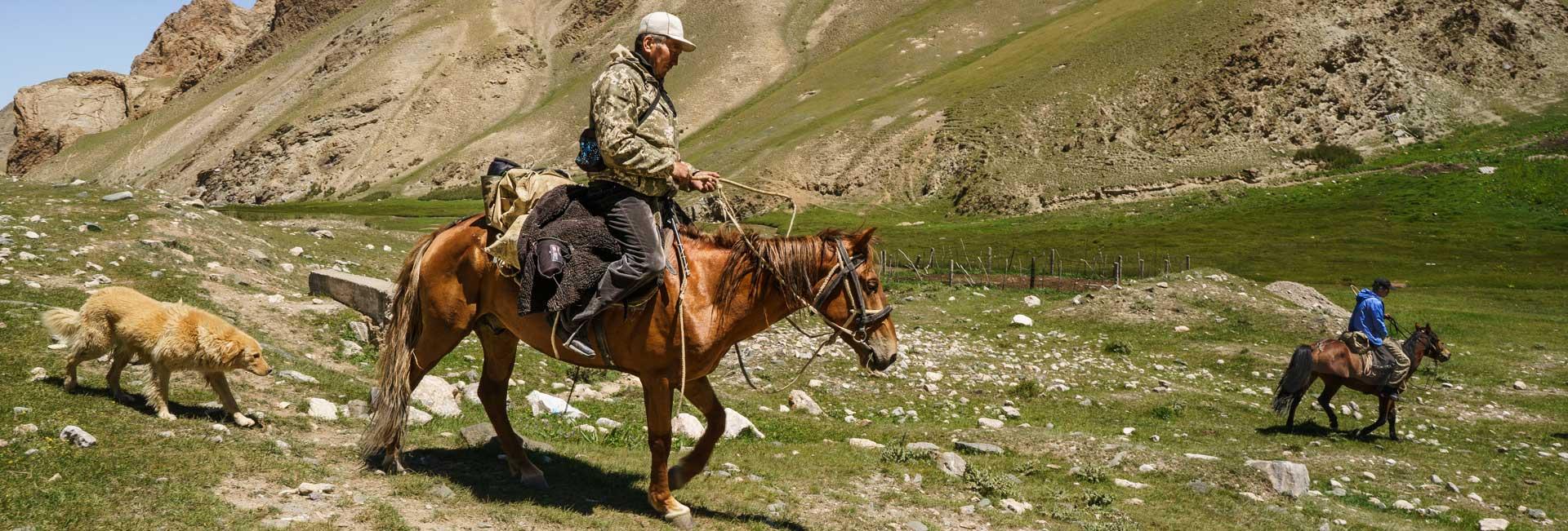 A shepherd in Tash Rabat, Kyrgyzstan. Photo credit: Jered Gorman