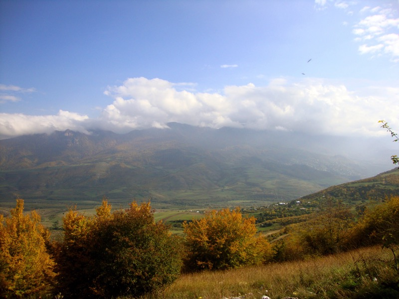 Armenia's landscapes are diverse, ranging from rolling hills to craggy peaks and gorges. Photo credit: Amy Stidger