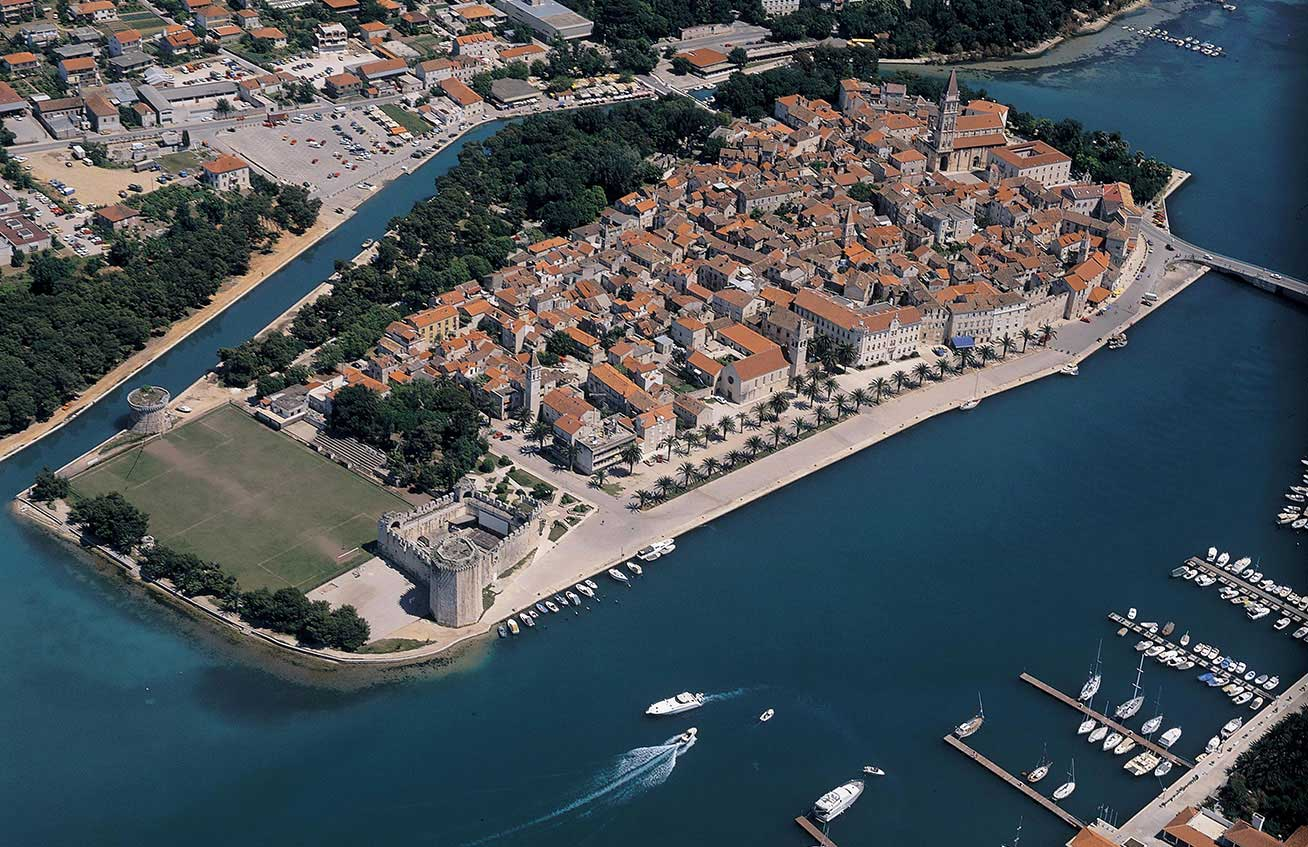 The historic town of Trogir, Croatia. Photo credit: Croatian National Tourist Board
