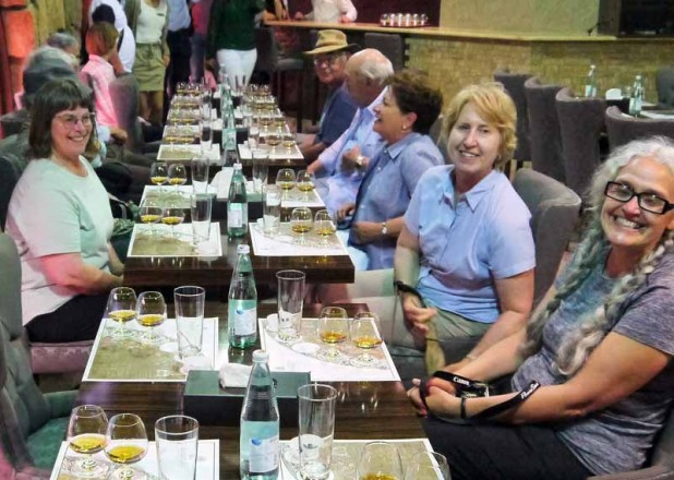 A cognac tasting in Yerevan's Ararat Brandy Factory. Photo credit: Martin Klimenta