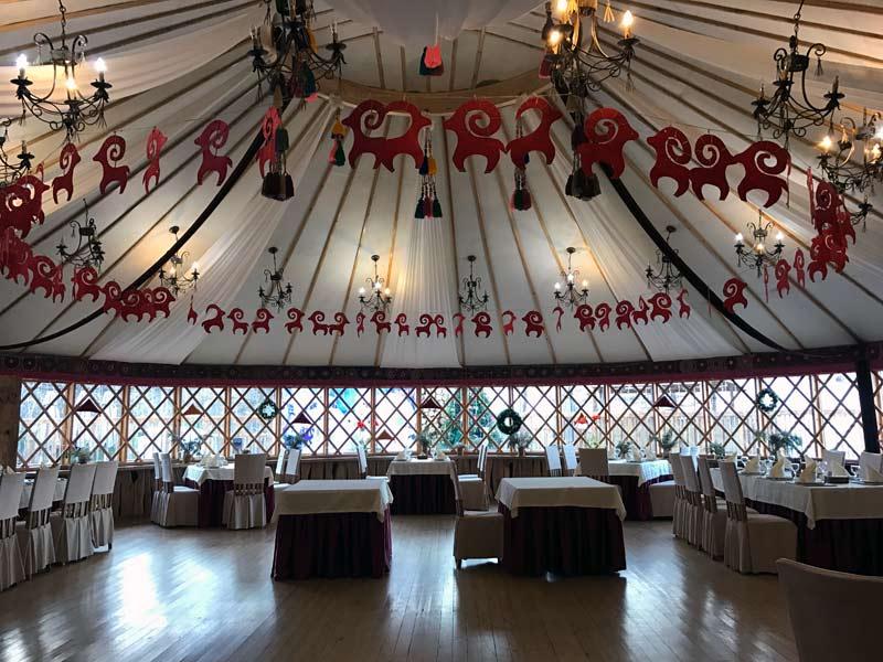 The Supara Chunkurchak lodge serves regional and European cuisine. Photo credit: Douglas Grimes