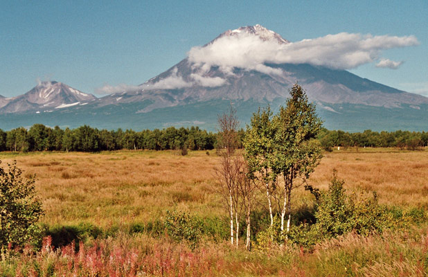"Siberia's Kamchatka Peninsula is situated on the ""Ring of Fire,"" with 29 active volcanoes. Photo credit: Martin Klimenta"