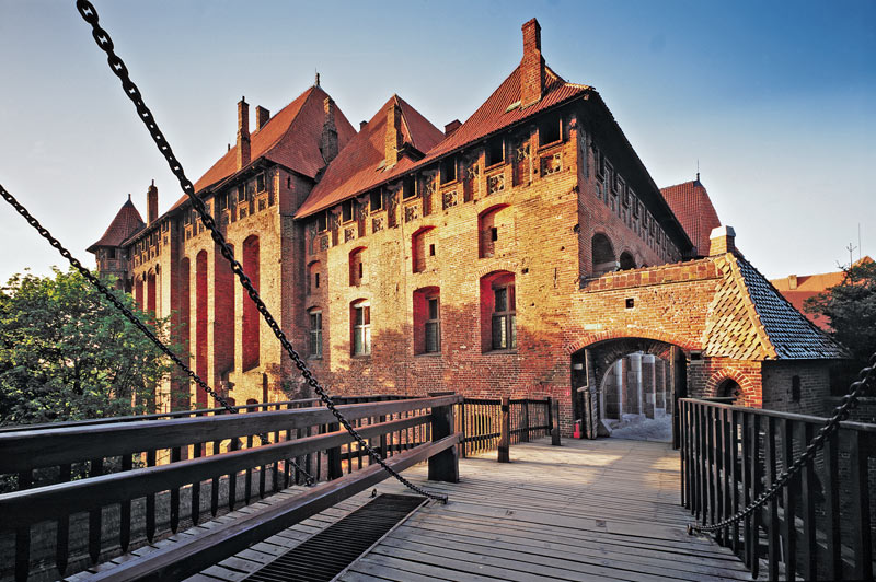 A UNESCO World Heritage Site, the Malbork castle complex is one of the largest in the world. Photo credit: Polish National Tourist Board
