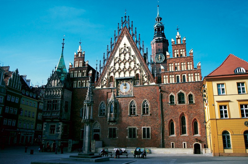 Wroclaw's Gothic Old Town Hall. Photo credit: Polish National Tourist Board