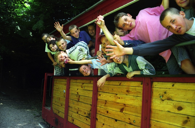 All aboard at the Narrow Gauge Railway Museum in Sochaczew, Poland. Photo credit: Waldemar Sosnowski / Polish National Tourist Board