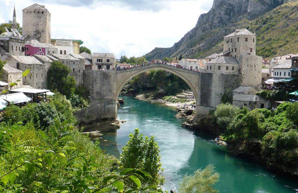 Old Bridge in Mostar, Bosnia and Herzegovina. Photo credit: Chris Lira