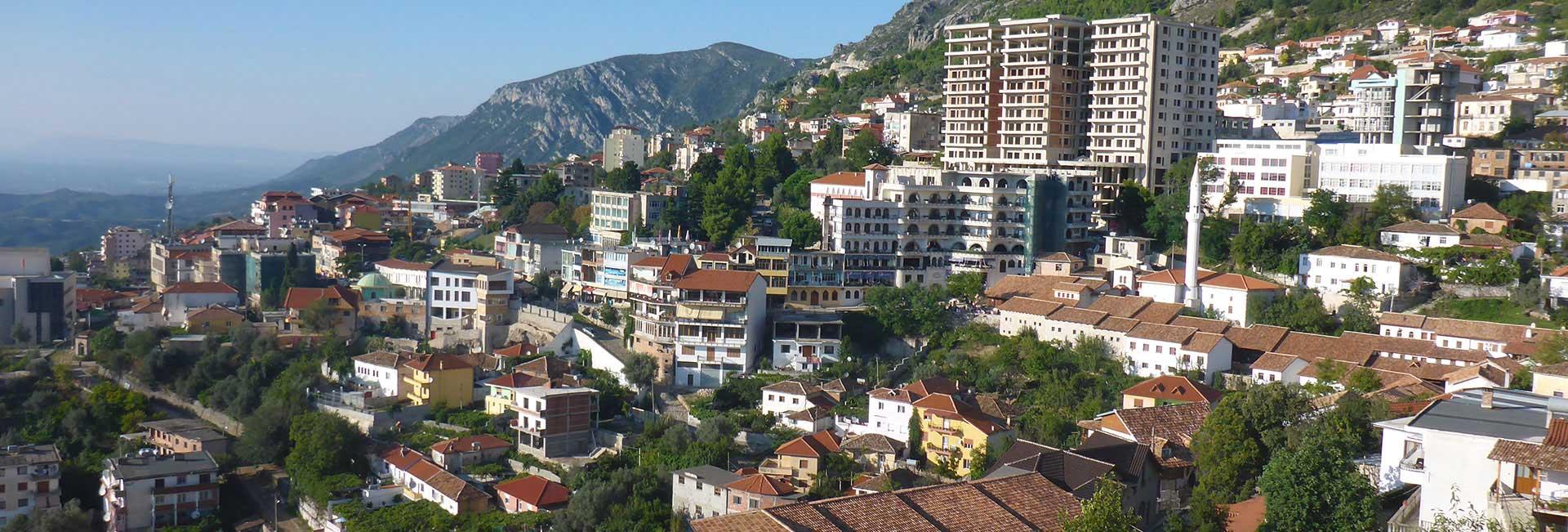 City view in Albania. Photo credit: Chris Lira