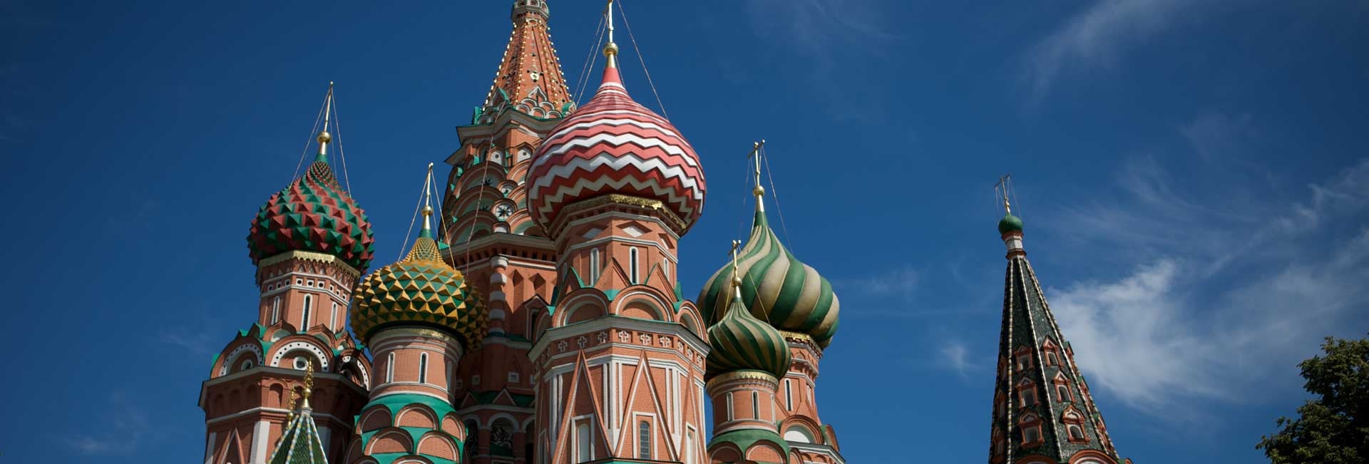 Moscow's iconic St. Basil's Cathedral. Photo credit: Heldge Pedersen
