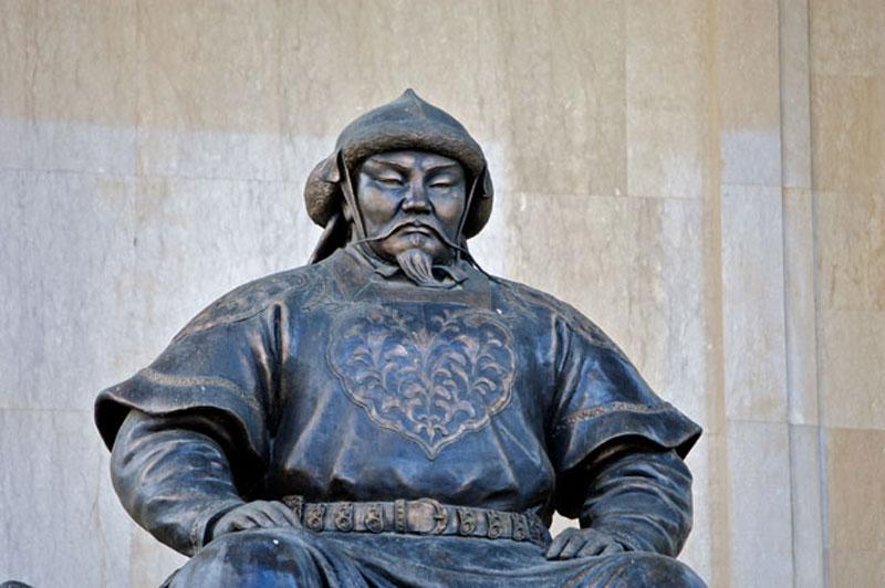 Genghis Khan, ruler of Mongolia's Golden Horde. Photo credit: Helge Pedersen