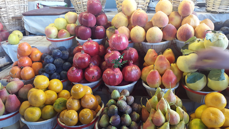 Armenia is renowned for its fantastic fruits and fresh produce. Photo credit: Anya von Bremzen