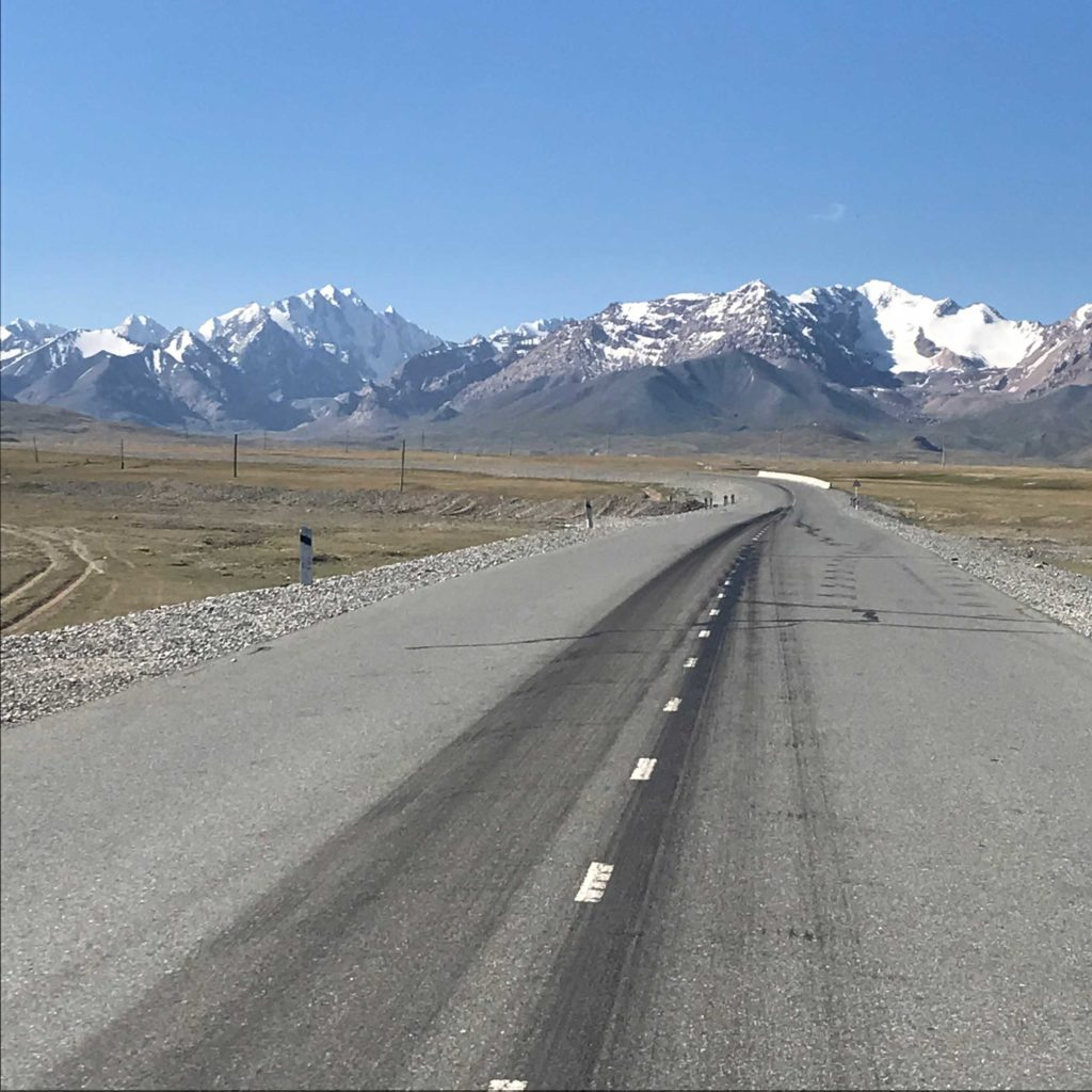 Scenic drives in Kyrgyzstan. Photo credit: Joanna Millick