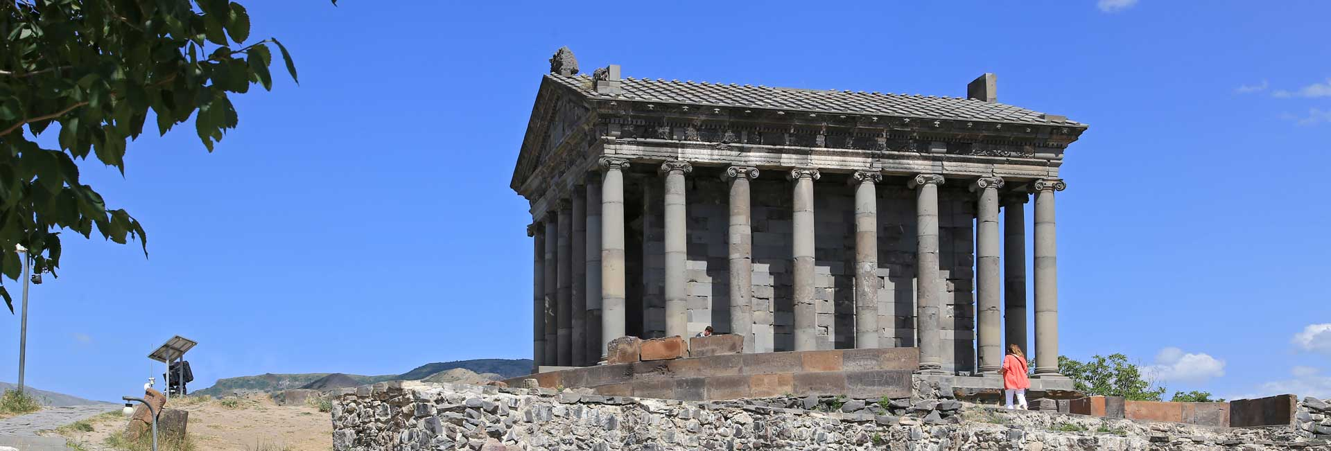 Temple of Garni, Armenia. Photo credit: Ann Schenider