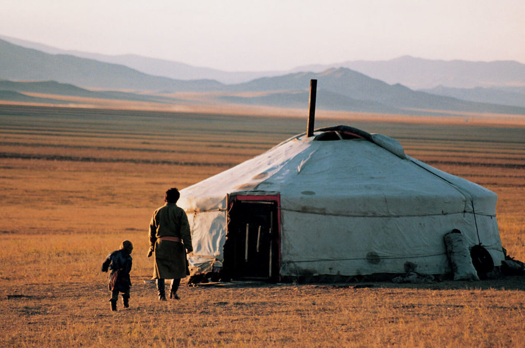 Ger life on the Mongolian steppe