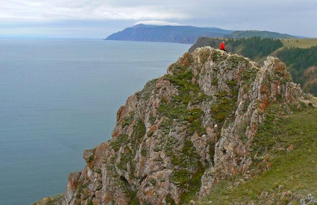 A solitary moment in Siberia on Lake Baikal. Photo credit: Martin Klimenta